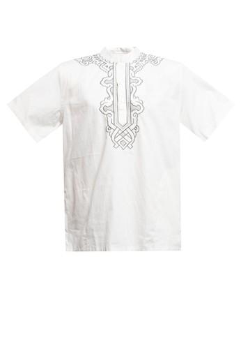 Zehavi beige Farres Embroidery Short Sleeve Koko 8DA7BAA0B73CEBGS_1