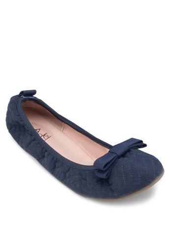 蝴蝶結彈性鞋口平底鞋esprit outlet 桃園, 女鞋, 鞋