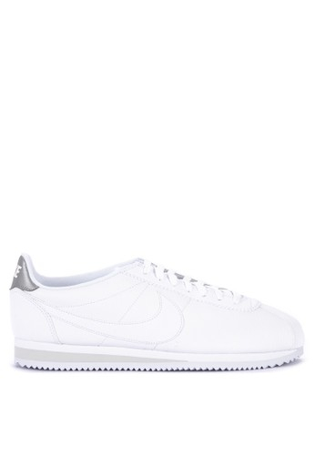 cheap for discount 939bc 88a61 Nike white Classic Cortez Leather Shoes F74E4SH1A3B668GS 1