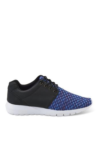 拼接大格飛織布超輕量鞋、 鞋、 懶人鞋Luxplay拼接大格飛織布超輕量鞋最新折價