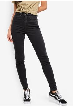c6e7d40839 Factorie black The Skinny High Rise Jeans 75B0BAA4BACD8EGS_1