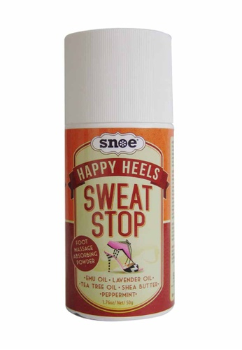 Snoe Beauty n/a Happy Heels Sweat Stop Foot Massage Absorbing Powder SN006BE13ZGCPH_1