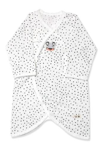 Organic mom white Dotty Tiger Newborn Gown (SPRING/SUMMER) 9E5ACKA984492FGS_1