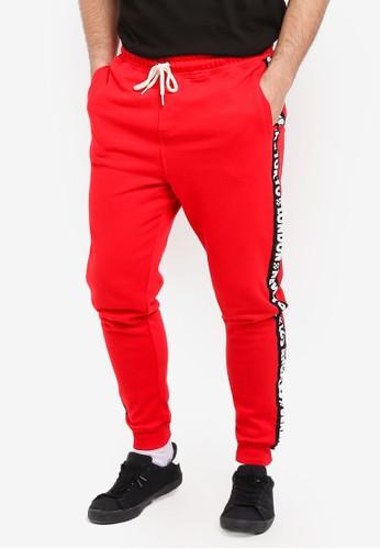 Cotton On red Trippy Slim Trackie Pants B2C49AA47EED3EGS_1