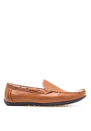 Wade brown Smart Casual Loafers WA436SH14CNHPH_1
