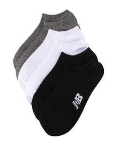 d972b9ae50f89 New Balance multi Unisex Invisible Socks 3 Pack C7969AC419BE4BGS_1