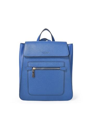Charles Berkeley blue Charles Berkeley Duncan Backpack (PB-9698) F7E6AAC0B73554GS_1