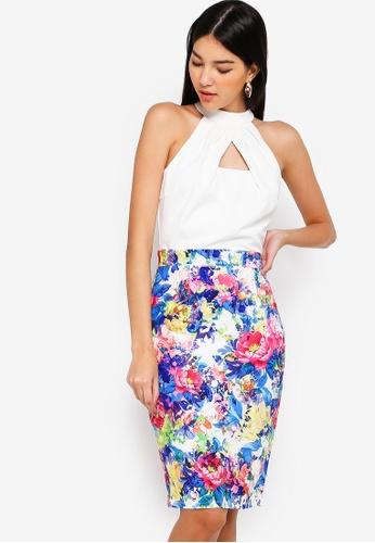Paper Dolls multi Print Skirt Dress 2F891AAF379E13GS_1