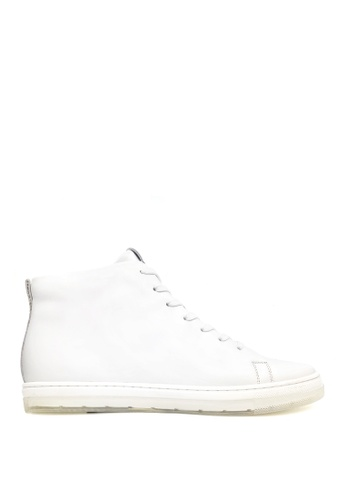 Kenneth Cole New York white COLVIN SNEAKER - High Top Sneaker 75559SHDF84A65GS_1