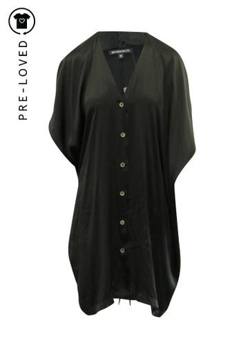 Ann Demeulemeester black Pre-Loved ann demeulemeester Kaftan Silk Dress 4E2C8AADD4F8DFGS_1
