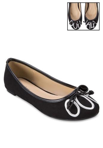 Ooh Lala 蝴蝶結平底鞋, 女鞋,zalora 台灣門市 鞋