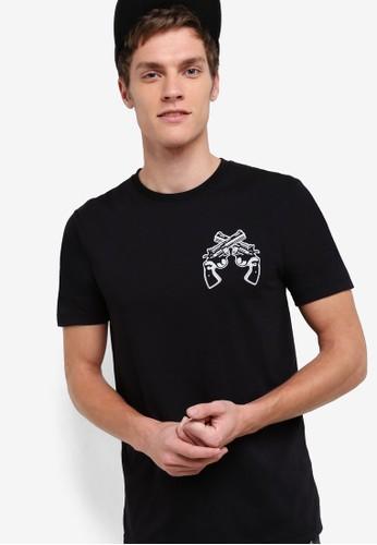 圖esprit 高雄文設計短袖TEE, 服飾, 印圖T恤