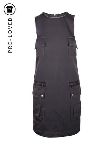 Lanvin black Pre-Loved lanvin Silk Dress With Zip CF17AAA203D14EGS_1