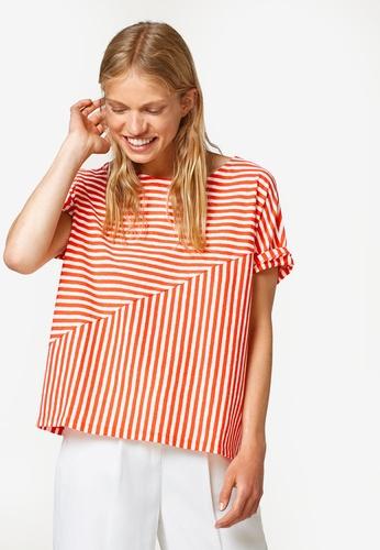 ESPRIT orange Short T-Shirt A9226AA3B4F38DGS_1