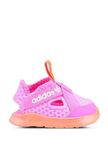 ADIDAS pink 360 sandals 26302KSB91D5DFGS_1