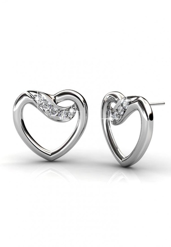 Her Jewellery silver Her Jewellery Angel Earrings with 18K Gold Plated 307A8ACFEEA763GS_1
