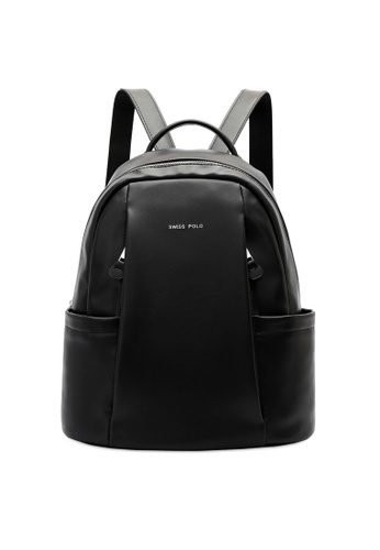 Swiss Polo black Party Backpack D6D35AC56887A2GS_1