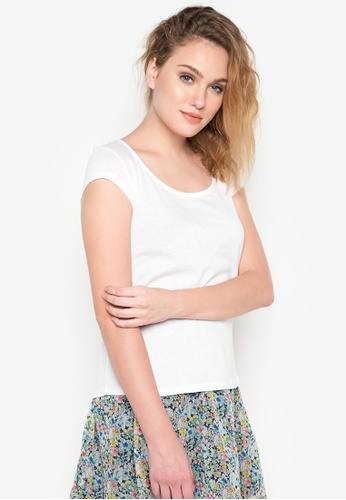 Springfield white Circular Top SP071AA16RBRPH_1