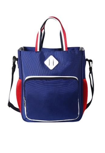 Twenty Eight Shoes blue VANSA  Lightweight Nylon Hand Bags VAK-Lb810 74F51KCFDF37CEGS_1