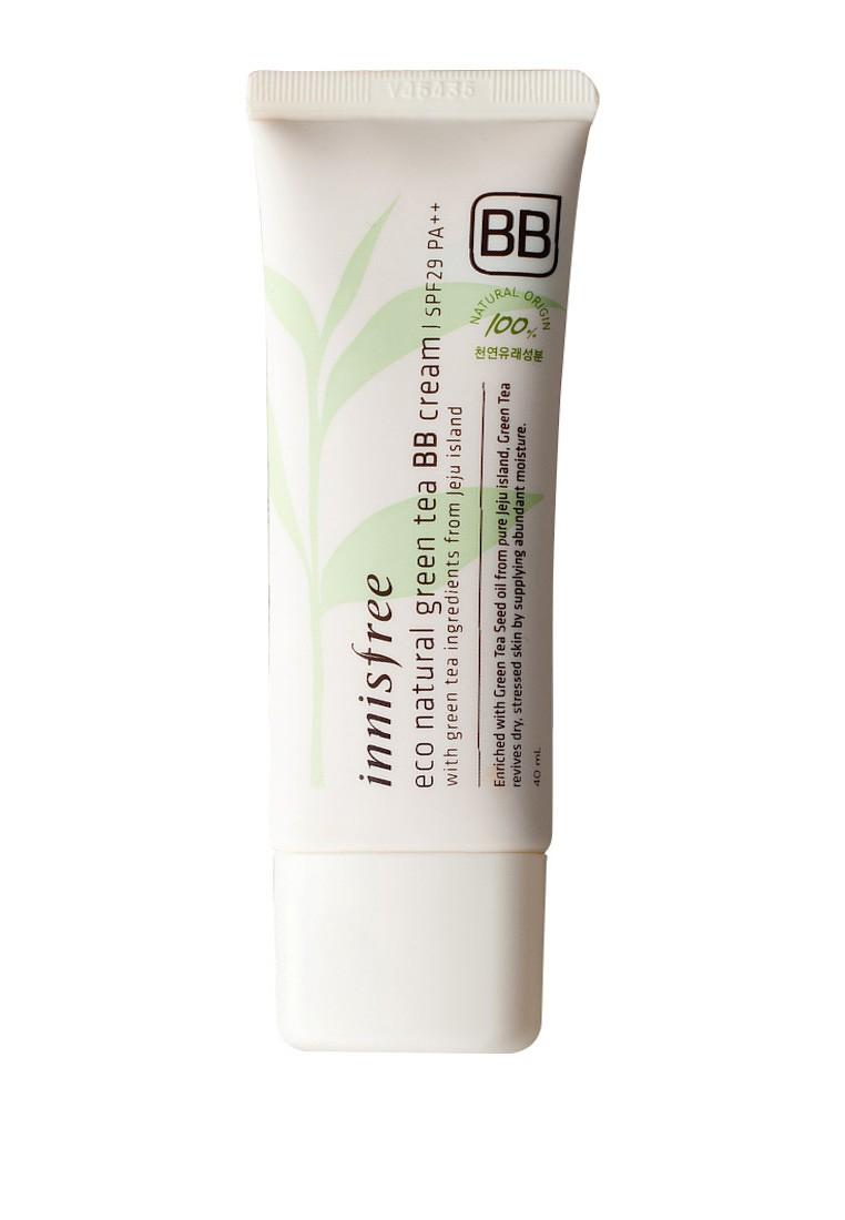 Innisfree Eco natural green tea BB cream SPF29 - White