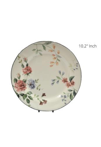 "Claytan Priscilla W Banding - 10.5"" Dinner plate 4A927HLDA9BBD0GS_1"