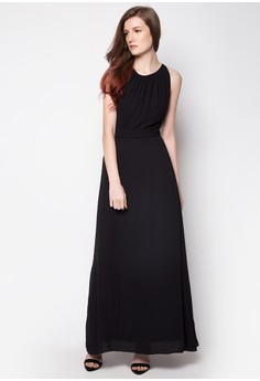 Formal Open Back Long Maxi Dress