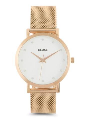 esprit童裝門市Pavane 不銹鋼網眼錶帶手錶, 錶類, 飾品配件