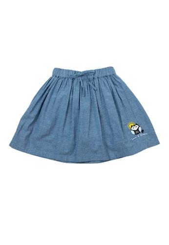 Vauva blue Vauva Girls Owl Love & Share Skirt - Blue DC2EEKA9B5C01DGS_1