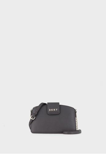 DKNY brown Clara Chain Crossbody Bag 44E57AC2C67F35GS_1