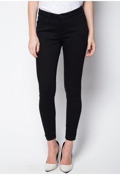 5-Pocket Non Denim Jeans