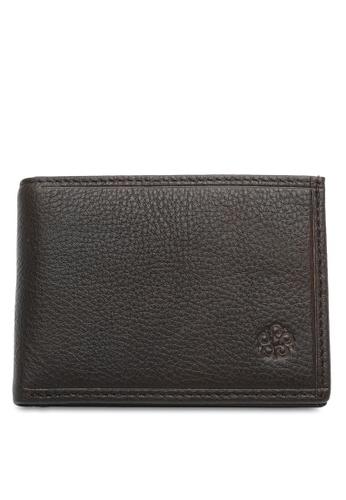 Wild Channel brown RFID Bifold Wallet ECB4DAC52AF036GS_1