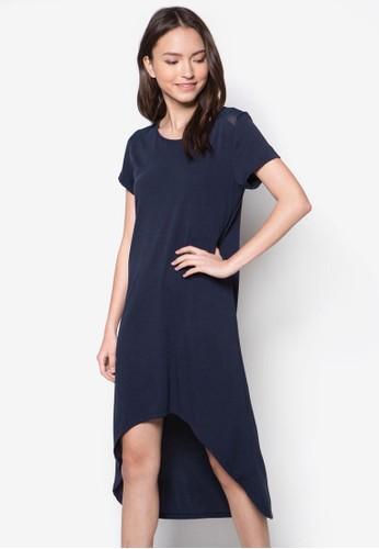 不對稱下擺esprit 品牌連身裙, 服飾, 洋裝