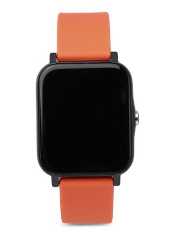 Milliot & Co. orange Timothy Smart Watch 067BFAC424AE2FGS_1