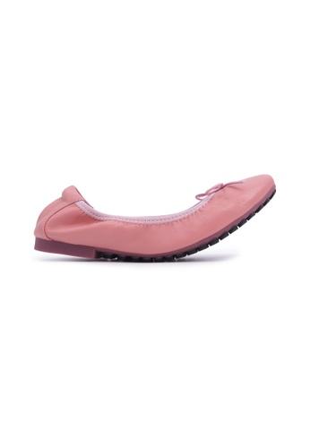 Flatss & Heelss by Rad Russel pink Soft Ribbon Flats - Light Pink 11512SH2AA14BEGS_1
