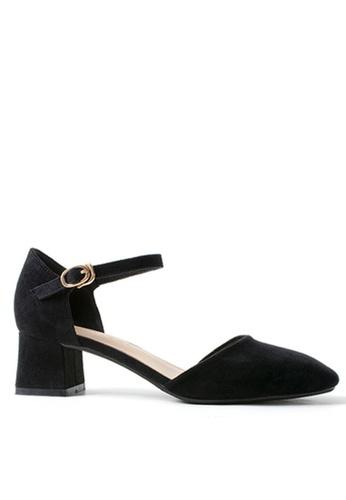 Twenty Eight Shoes 黑色 斯文方頭小踭鞋132-1 C0A14SH619A275GS_1