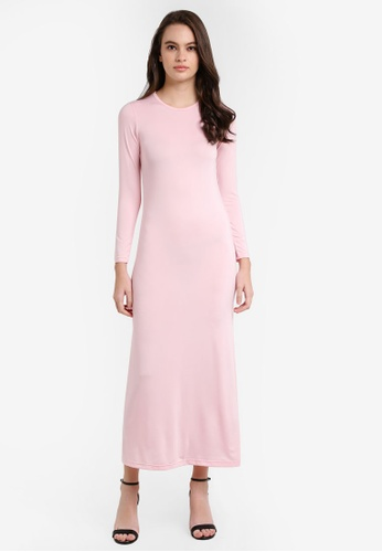Lubna pink Inner Dress B6EDDAAD07D610GS_1