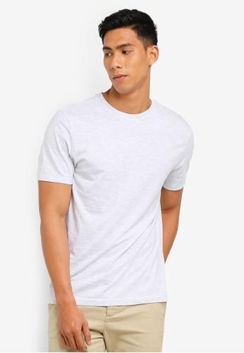 Topman 灰色 Frost Grey T-Shirt 313D1AA232FE4DGS_1
