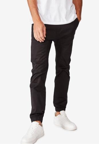 Cotton On black Drake Cuffed Pants CO372AA70ZVXMY_1