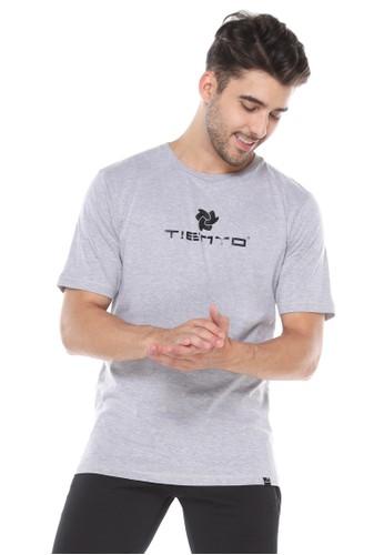 Tiento grey Tiento T-Shirt To Go Grey Baju Kaos Lengan Pendek BD999AAA352C96GS_1