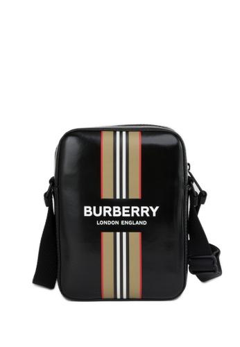 Burberry black Coated Canvas Bag 875EDACD665A1EGS_1