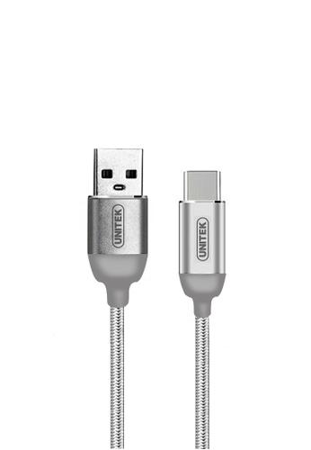 Latest Gadget grey Unitek 1 Meter Type-C Data Charging Cable - Gray 1881DES4C55D39GS_1