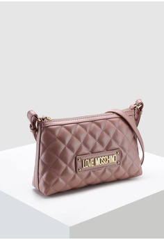 4f2b4a88d 20% OFF Love Moschino Quilted Sling Bag HK$ 1,519.00 NOW HK$ 1,215.00 Sizes  One Size