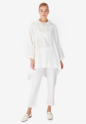 Trendyol 白色 白色 Traditional上衣 & Bottom Sets F0E11AA33F2C52GS_1
