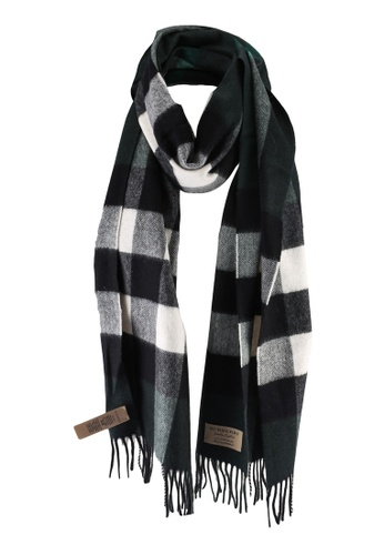 Burberry green Classic Check Scarf (oc) 52D2AACB622F09GS_1