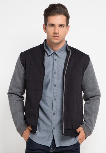 Salt n Pepper black Mens Jacket SA324AA0V9SAID_1