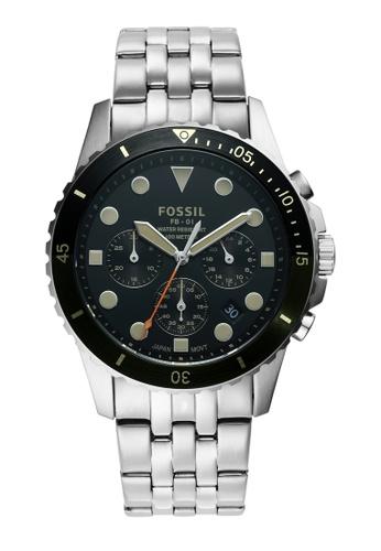 FOSSIL silver FB - 01 Watch FS5864 F7D0BAC3AFAB81GS_1