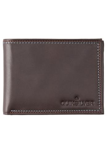 Quiksilver black Mini Macbro Bi-Fold Leather Wallet F6EDBAC06186A8GS_1