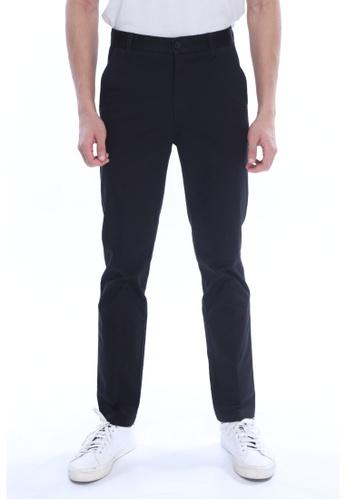 Amar Amran black Khakis Long Pant C0CE8AAC9D29EBGS_1