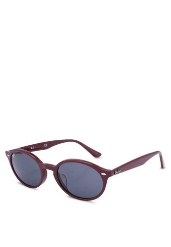 Ray-Ban 黑色 Ray-Ban RB4315F Sunglasses 6D9E8GLD72F430GS_1