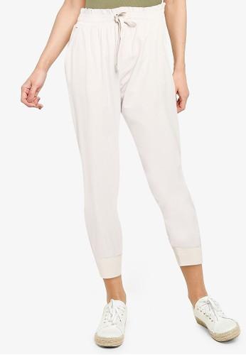 Abercrombie & Fitch beige Traveler Jogger Pants C4FF5AAB407C65GS_1